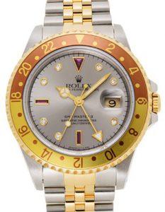 ロレックス GMTマスターⅡ 16713RG
