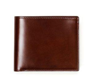 土屋鞄 コードバン 2つ折り財布