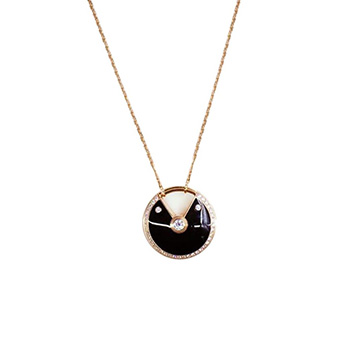 アミュレットMM ネックレス ダイヤモンドK18YG 買取価格250,000円