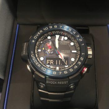 CASIO G-SHOCK ガルフマスターモデル 電波ソーラ GWN-1000B-1B