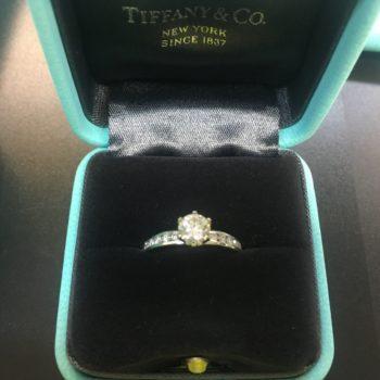 ティファニー ハーモニー ダイヤモンドリング Ipt950/3.6g D 0.46ct 買取価格130000円