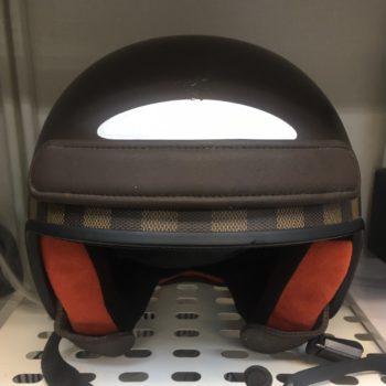 ルイヴィトン ダミエ ヘルメット N80062 破損あり 買取価格15,000円