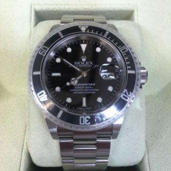 ロレックス 16610 D番 買取価格650000円