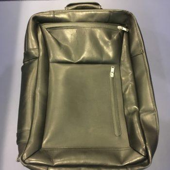 マスターピース master-piece STREAM Leather レザー 黒 2way バックパック 買取価格14000円