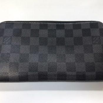 ルイヴィトン 長財布 ダミエ グラフィット ジッピーウォレット ヴェルティカル N63095 買取価格 ¥48000