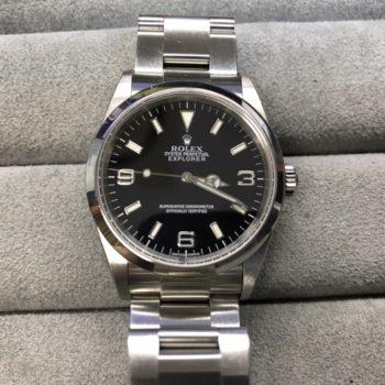 114270 ロレックス エクスプローラーⅠ P番 お買い取り価格