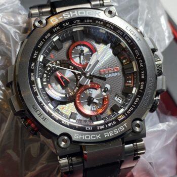 G-SHOCK Gショック CASIO カシオ MTG-B1000B-1AER 国内品番(MTG-B1000B-1AJF) 未使用 完品 腕時計 メンズ