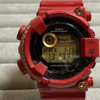 G-SHOCK Gショック CASIO カシオ Rising RED(ライジングレッド) GF-8230A-4JR FROGMAN フロッグマン