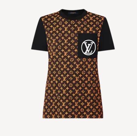 レトロモノグラムTシャツ